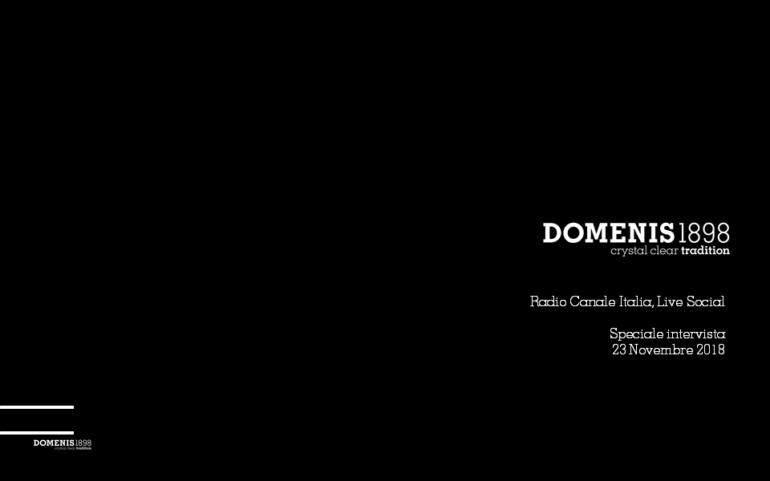 DOMENIS1898 & Live Social @Radio Canale Italia