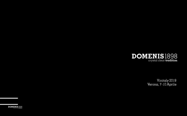DOMENIS1898 @Vinitaly 2019