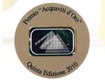 Concorso Internazionale Acquaviti d'Oro 2010 - Silver Medal