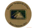 Concorso Internazionale Acquaviti d'Oro 2011 - Gold Medal