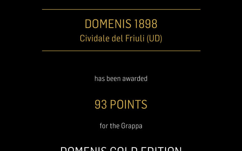 FALSTAFF GRAPPA TROPHY 2019 – DOMENIS GOLD EDITION