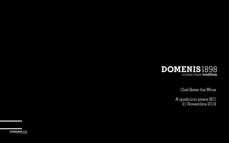 DOMENIS1898 @God Save the Wine 2019 Eataly Firenze