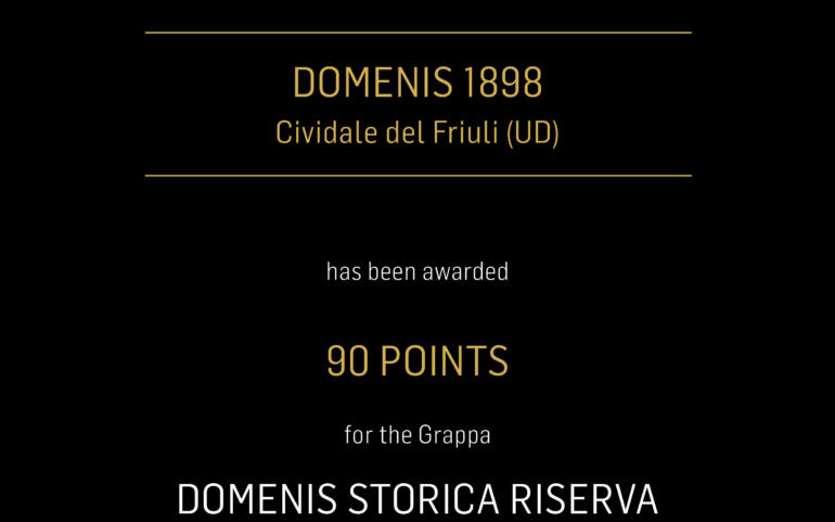 FALSTAFF GRAPPA TROPHY 2019 – STORICA RISERVA BARRIQUE MILLESIMATA