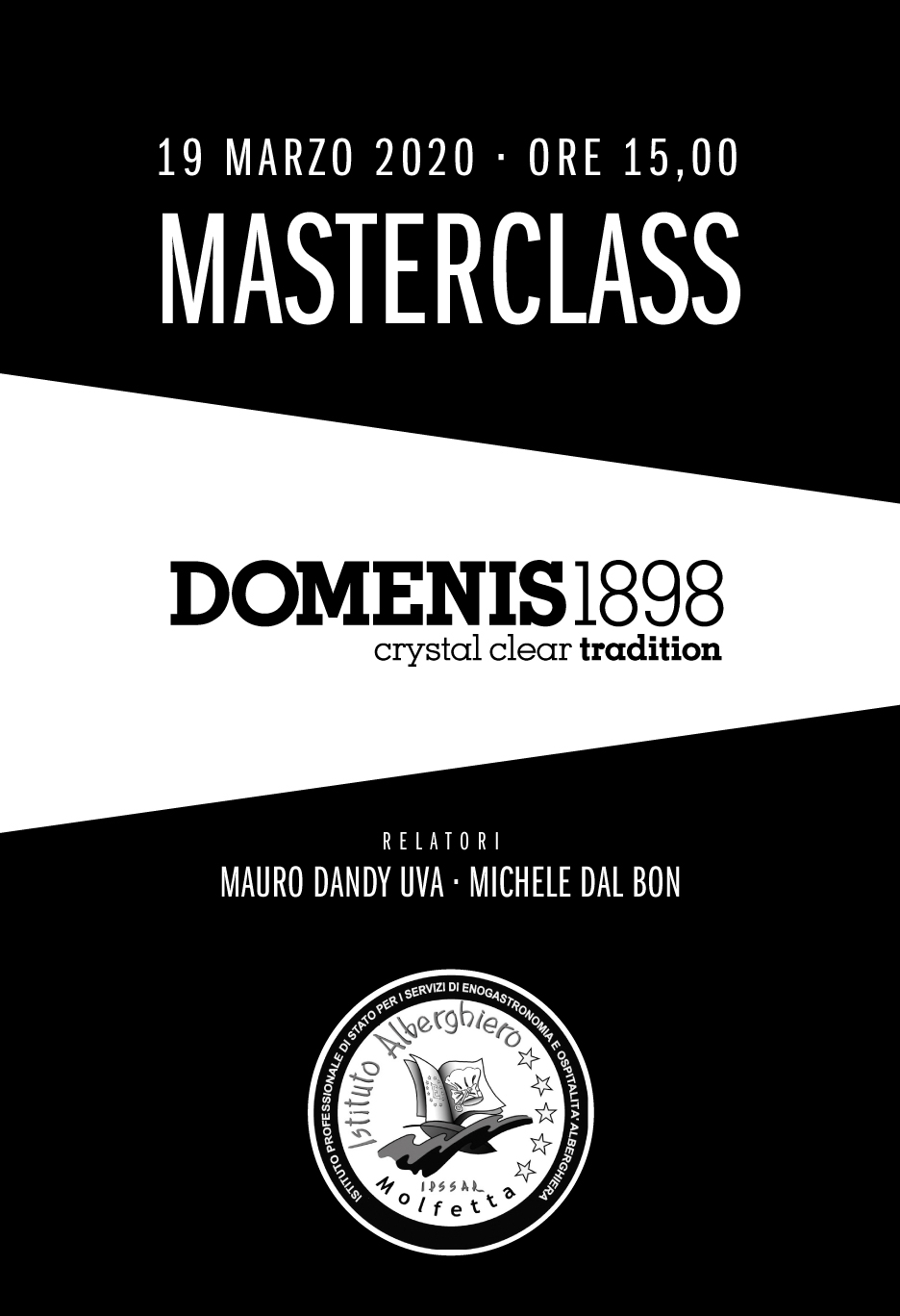 Masterclass DOMENIS1898 & Hotel and Catering School Molfetta