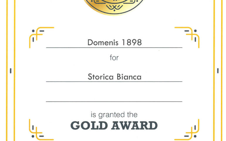 International Taste Awards 2020 – Storica Bianca