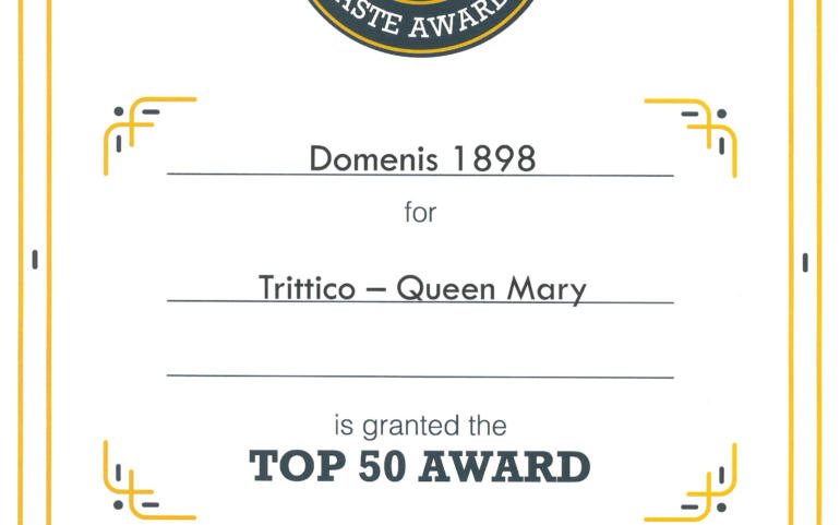 International Taste Awards 2020 – TRITTICO Queen Mary