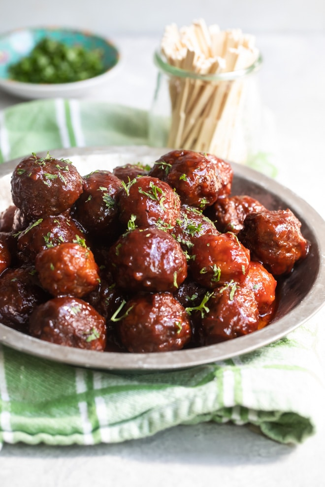 Tasty meatballs with TRITTICO BERGAMOT