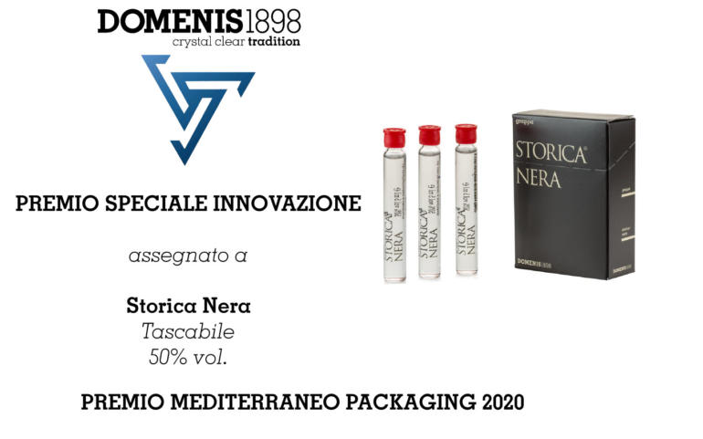 Mediterraneo Packaging Award 2020 – Storica Nera Pocket