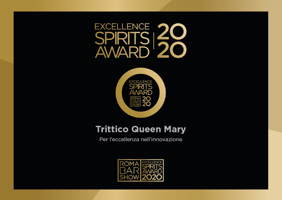 Excellence Spirits Award 2020 – Trittico Queen Mary