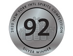 New York - Intl Spirits Competition 2020 - Silver - 92