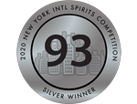 New York - Intl Spirits Competition 2020 - Silver - 93
