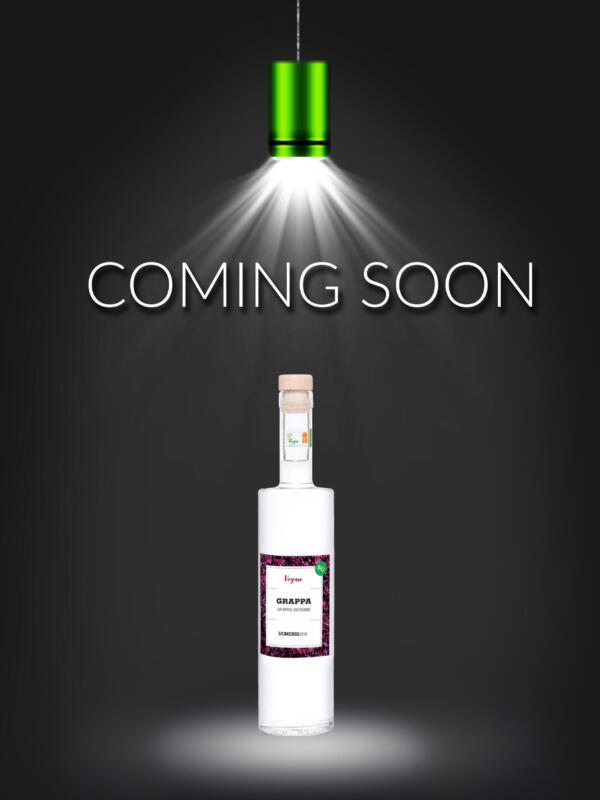 COMING SOON VEGAN GRAPPA
