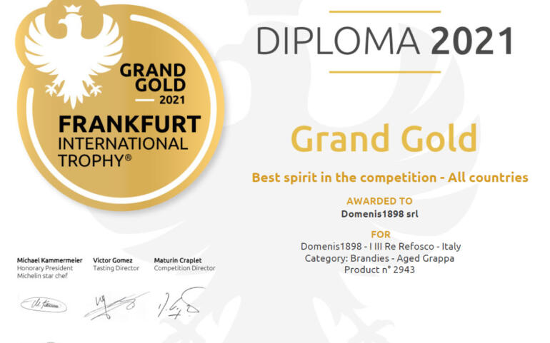 International Frankfurt Wine, Beer & Spirit Competition 2021 – I III Re Refosco